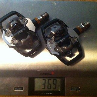 Gewicht Shimano Pedale (Klick) XTR PD-M985 Trail