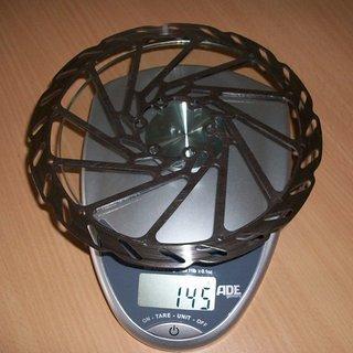 Gewicht Avid Bremsscheibe G2 CleanSweep 185mm