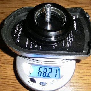 Gewicht Mortop Steuersatz HI-65 ZS44