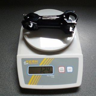 Gewicht Sunline Vorbau XC One 31.8mm, 100mm, 6°