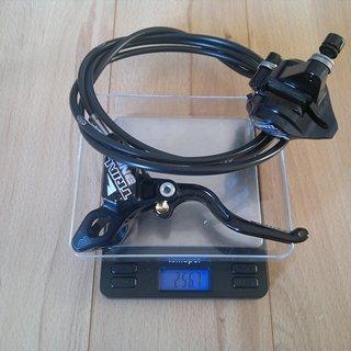Gewicht Hope Scheibenbremse Trial Zone HR, 1485mm