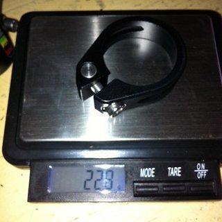 Gewicht brandxbikes Sattelklemme Sattelklemme 34,9mm