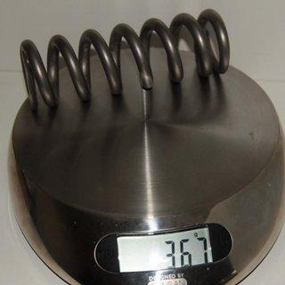 """Gewicht Nukeproof Feder Titanfeder 450 x 2.8"""""""