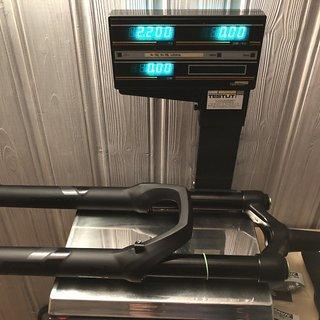 Gewicht DVO Federgabel Diaomond 170. 2019 27,5 boost