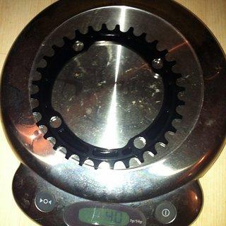 Gewicht Works Components Kettenblatt Chainring n/w 104mm, 32Z