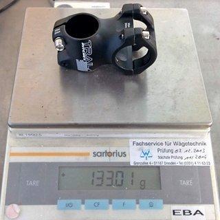 Gewicht Ritchey Vorbau Trail 31.8mm, 45mm, 0°