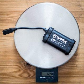 Gewicht Lupine Beleuchtung Hardcase Akku 2.2 Ah