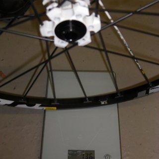 Gewicht Mavic Systemlaufräder Crossmax ST VR, 100mm/15