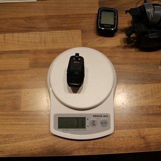 Gewicht Blackburn Beleuchtung Click Front