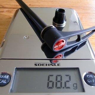 Gewicht DT Swiss Schnellspanner RWS Thru Bolt 10/135 mm
