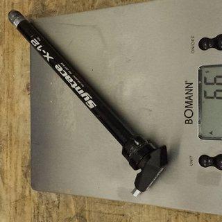 Gewicht Syntace Achse X12 incl. X-Fix 12x142