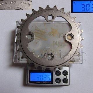 Gewicht Shimano Kettenblatt XT FC-T780 64mm, 26Z