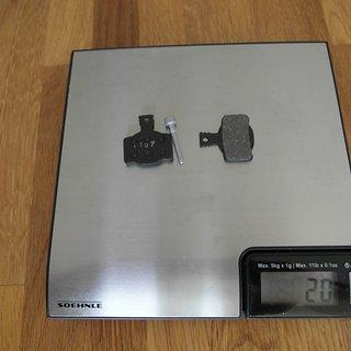 Gewicht Magura Bremsbelag Endurance 7.2