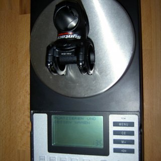 Gewicht Syntace Vorbau Superforce 31.8mm, 45mm, 6°