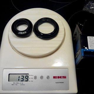 Gewicht Neco Parts Steuersatz H156E ZS44/28.6, ZS56/40