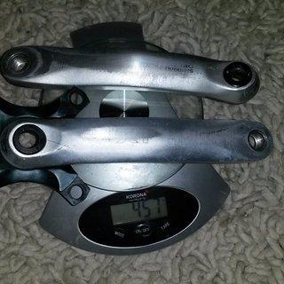 Gewicht Shimano Kurbel XT FC-M751 175 mm