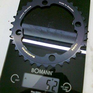 Gewicht Blackspire Kettenblatt Mono Veloce  104mm, 33Z