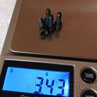 Gewicht Avid Schrauben, Muttern zylindrische Inbusschraube M3x10, Stahl