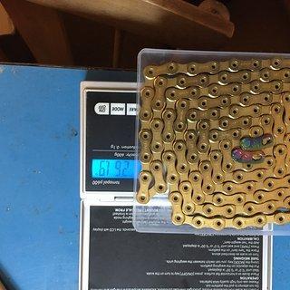Gewicht SRAM Kette PC XX1 Eagle 12fach