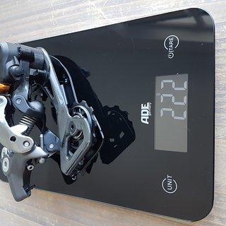Gewicht Shimano Schaltwerk XTR M-9000 GS