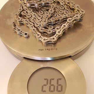Gewicht KMC Chain Kette X 9 SL Silber 116 Glieder