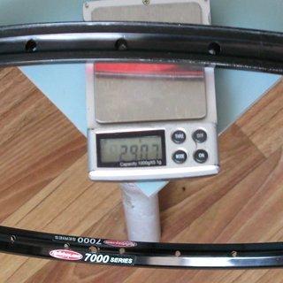 "Gewicht Notubes Felge ZTR Race 26"", 32 L"
