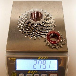 Gewicht SRAM Kassette PG-970 DH 9-fach, 11-26Z
