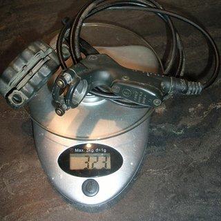 Gewicht Avid Scheibenbremse Code 5 HR 128cm