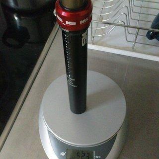 Gewicht Kind Shock Sattelstütze höhenverstellbar i950 30,9 x 385mm