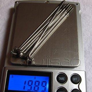 Gewicht No-Name Speiche Speichen 74mm, 10 Stück