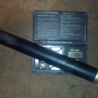 Gewicht Scape Sattelstütze Sattelstütze (Alu) 31,6 x 350mm
