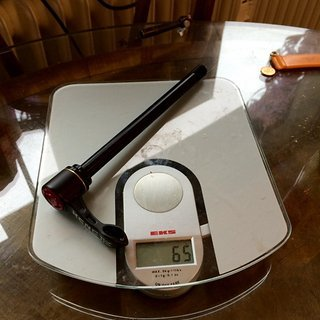 Gewicht KCNC Achse KCNC Steckachse Quick & Easy E-Thru | 12 x 142mm 12 x 142mm E-Thru