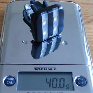 Gewicht Knog Beleuchtung Blinder 4 GT Stripe