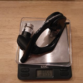 Gewicht Campagnolo Felgenbremse TT