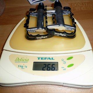 Gewicht Wellgo Pedale (Platform) LU-950 92x60x21mm