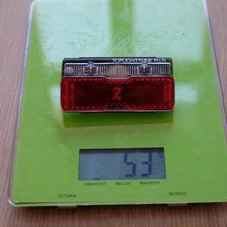Gewicht Busch und Müller Beleuchtung Toplight Line Plus