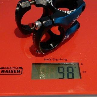 Gewicht OnOff Vorbau Stoic FG 30 mm