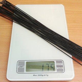 Gewicht WTB Speiche OEM Speiche 258mm, 32 Stück