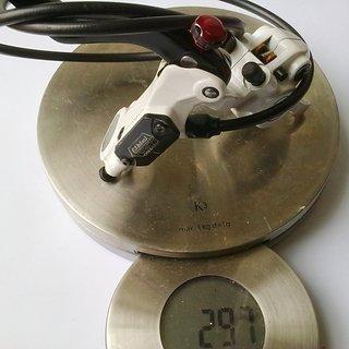 Gewicht Tektro Scheibenbremse Auriga Pro VR, 820mm