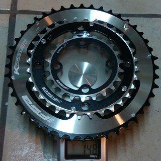 Gewicht FSA Kettenblatt K-Force 64/104mm, 22/32/44Z