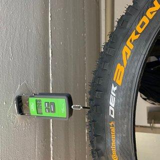 Gewicht Continental Reifen Continental Der Baron 2.6 ProTection Apex 27,5+ Faltreifen 27.5x2.6