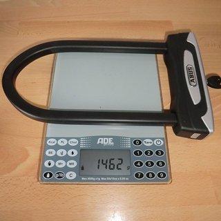 Gewicht Abus Fahrradschloss Granit X-Plus 54/160 230 mm