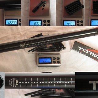 Gewicht Totta Sattelstütze Sattelstütze (Alu) 27,2 x 350mm