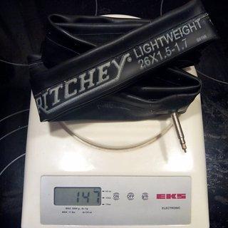 """Gewicht Ritchey Schlauch Lightweight SV/26x1.5-1.7"""""""