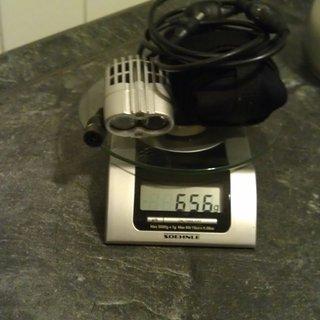 Gewicht Cateye Beleuchtung HL-EL710 RC DoubleShot