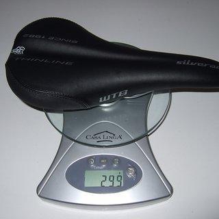 Gewicht WTB Sattel Silverado