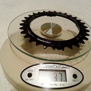 Gewicht Race Face Kettenblatt Single Ring n/w 104mm, 30Z