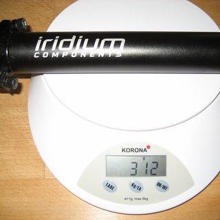 Gewicht Canyon Sattelstütze Iridium 31,6 x 320mm