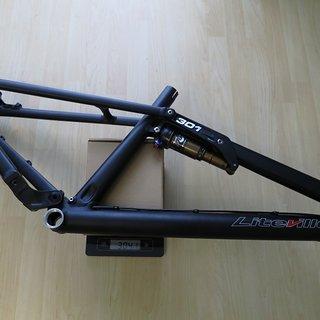 Gewicht Liteville Full-Suspension 301 MK11 160mm black M