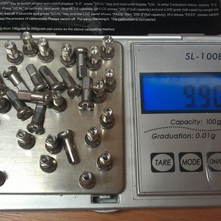 Gewicht DT Swiss Speichennippel Standard Aluminium 32x, 2mm, 12mm